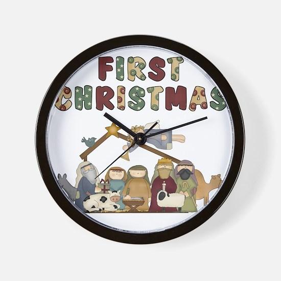 First Christmas Tote Bag Wall Clock