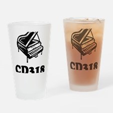 CD318-black Drinking Glass