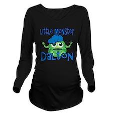 dalton-b-monster Long Sleeve Maternity T-Shirt