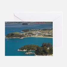 Breaker Bay (middle right) Greeting Card