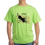 Pitbull Anatomy Green T-Shirt