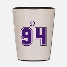 Jersey Front Shot Glass