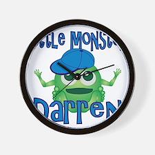 darren-b-monster Wall Clock