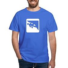 Climbing Guy Icon T-Shirt