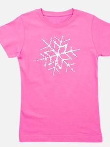 snowflake Girl's Tee