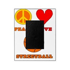 Peace Love Streetball Picture Frame