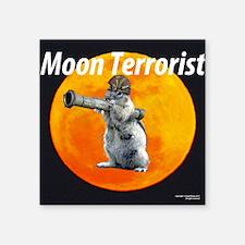 """cr 11 04 17 terror SQUIRREL Square Sticker 3"""" x 3"""""""