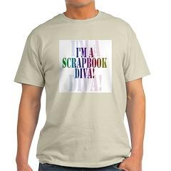 Scrapbook Diva Light T-Shirt