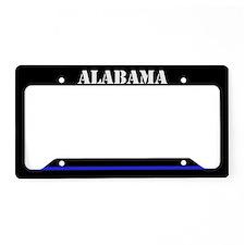 Alabama Police License Plate Holder