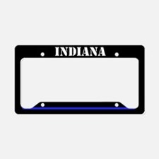 Indiana Police License Plate Holder