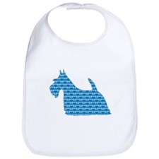 Bone Scottie Bib