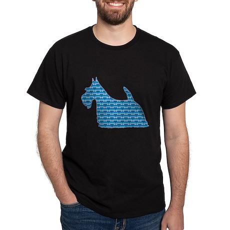 Bone Scottie Dark T-Shirt
