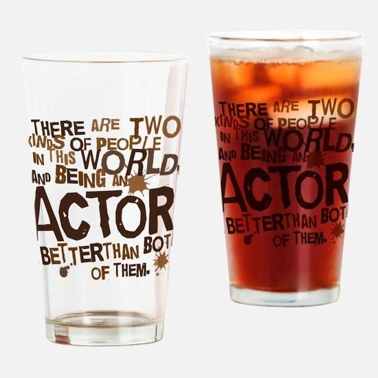 actorbrown Drinking Glass