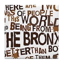 bronx_brown Tile Coaster