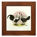 Birchen OE Bantams Framed Tile