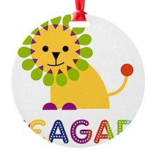 Teagan-the-lion Ornament