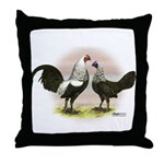Birchen OE Bantams Throw Pillow