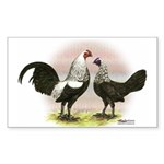 Birchen OE Bantams Rectangle Sticker