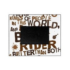 bull_rider_brown Picture Frame