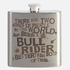 bull_rider_brown Flask