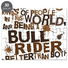 bull_rider_brown Puzzle