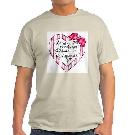 Angel Scrapbooker Light T-Shirt