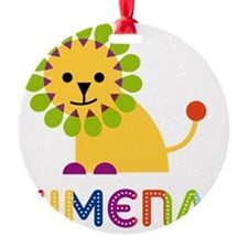 Ximena-the-lion Ornament