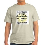 Dogs Mens Light T-shirts