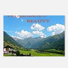 SWISS CAL COVER Postcards (Package of 8)