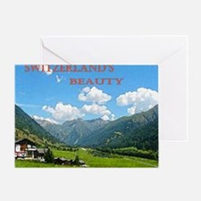 SWISS CAL COVER Greeting Card