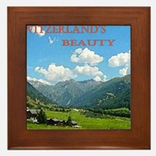 SWISS CAL COVER Framed Tile