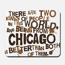 chicago_brown Mousepad
