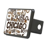 City chicago Hitch Covers