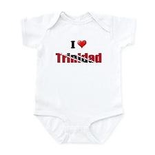 I love Trinidad Infant Bodysuit