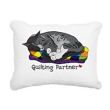 QuiltingPartner Rectangular Canvas Pillow