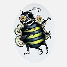 zombee! Oval Ornament