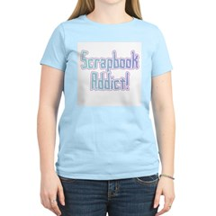 Scrapbook Addict Women's Light T-Shirt