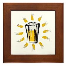 Beer! Framed Tile