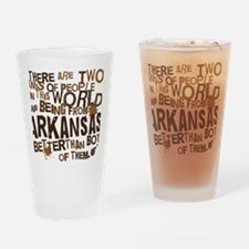 arkansas_brown Drinking Glass