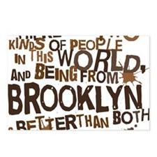 brooklyn_brown Postcards (Package of 8)