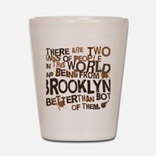 brooklyn_brown Shot Glass