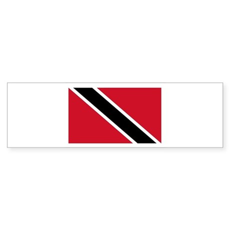 Trinidad Flag Bumper Sticker
