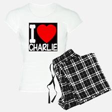 iheart_charlie_black Pajamas