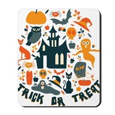 HalloweenCollage Mousepad