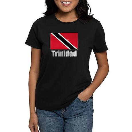 Trinidad Flag Women's Dark T-Shirt