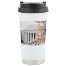 Cherry Blossoms in DC Travel Mug