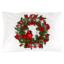 SPARKLING CARDINAL Pillow Case