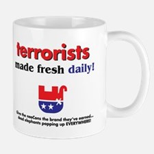 Mug - terrorists made fresh daily!