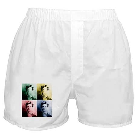 Rimbaud Pop Art Boxer Shorts