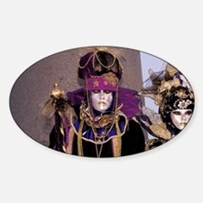Europe, Italy, Venice. Carnival, tr Decal